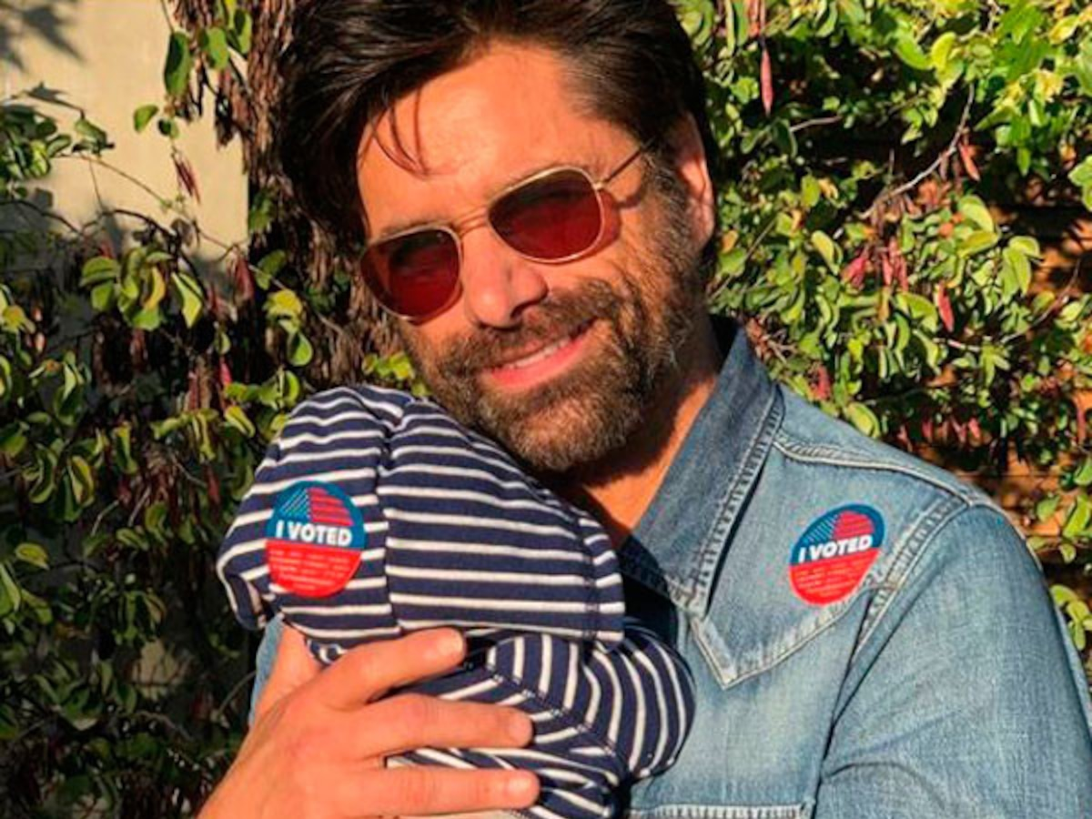 Happy Father's Day to Hollywood's First Time Dads Including, John Stamos, Jordan Peele, Aaron Paul and More!