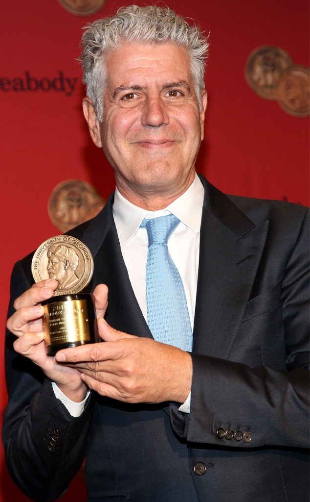 Anthony Bourdain, 2014 Annual George Foster Peabody awards