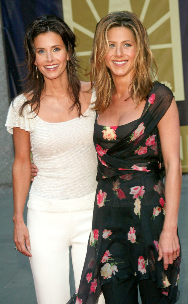 Courteney Cox, Jennifer Aniston, 2002