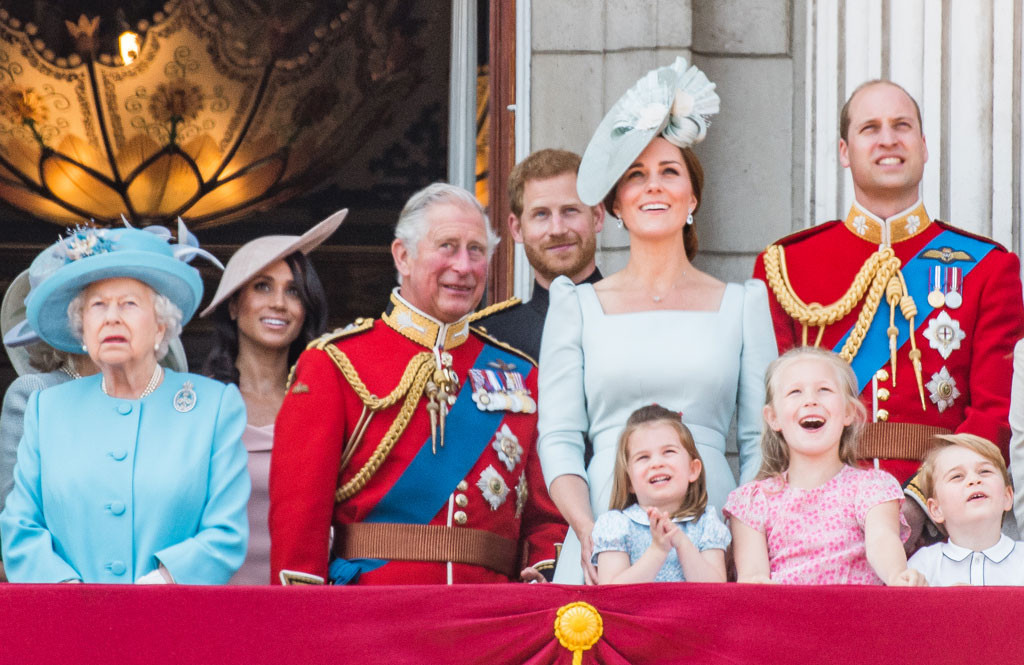 Kate Middleton, Prince William, Princess Charlotte, Prince George, Queen Elizabeth, Meghan Markle, Prince Harry, Prince Charles