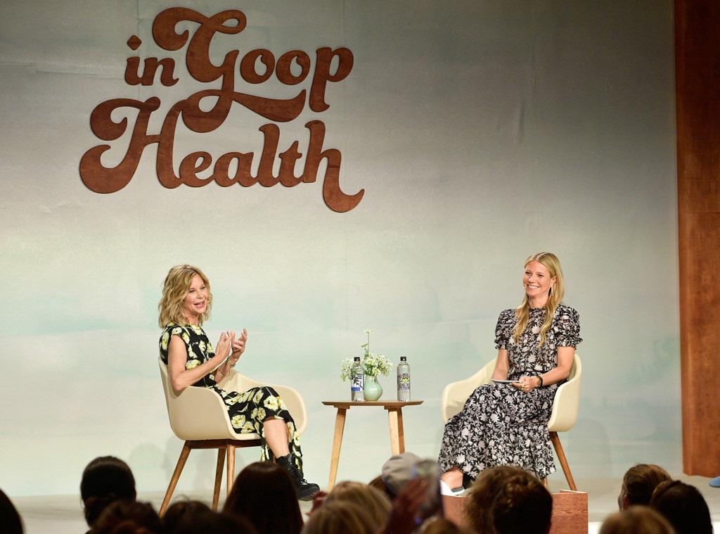 Meg Ryan, Gwyneth Paltrow, In goop Health Summit