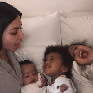 Kim Kardashian, North West, Saint West, Chicago West