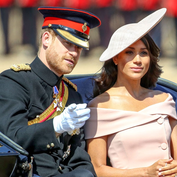 Meghan Markle, Prince Harry, Trooping The Colour