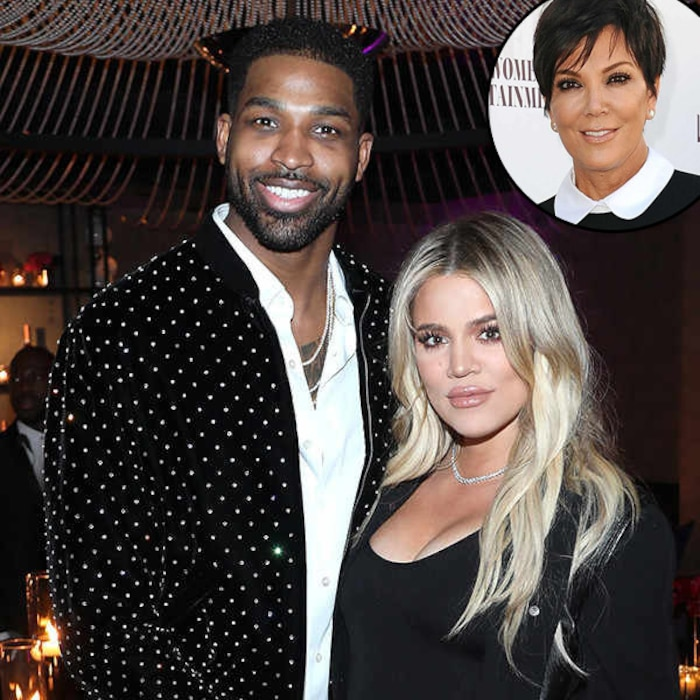 Kris Jenner Comments On Tristan Thompson And Khloe Kardashian After Cheating Scandal E News