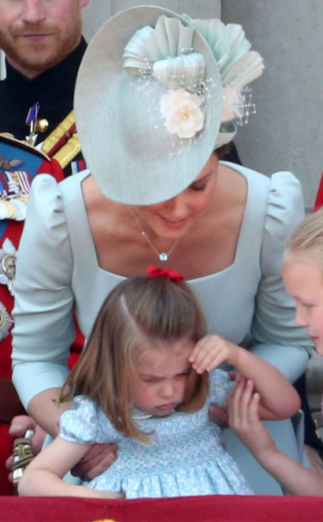 Princess Charlotte, Duchess of Cambridge, Kate Middleton, Trooping the Colour