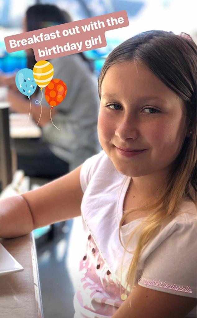 Stella McDermott, birthday, Tori Spelling, Instagram