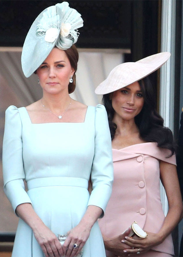 Meghan Markle, Kate Middleton, Trooping The Colour