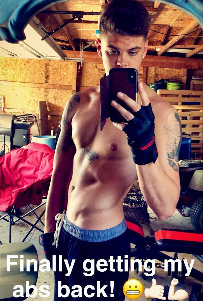 Teen Mom's Tyler Baltierra Shows 43-Lb. Weight Loss In
