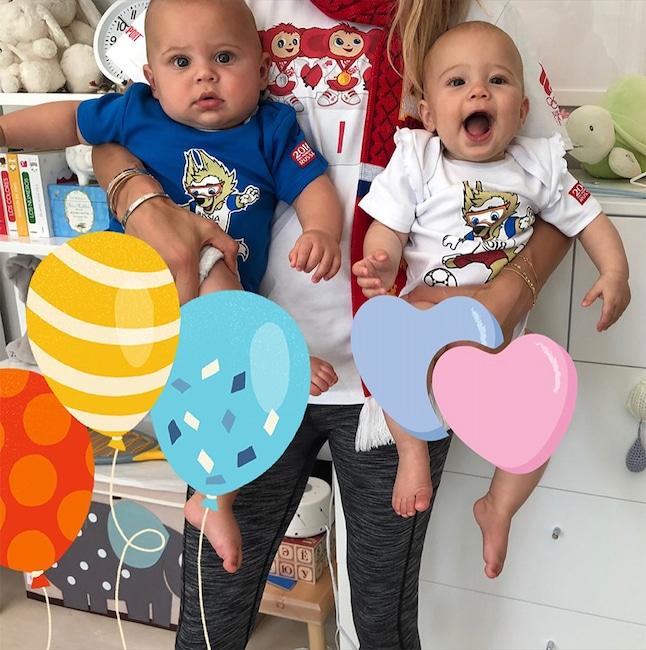 Anna Kournikova, Nicholas Iglesias, Lucy Iglesias, Instagram
