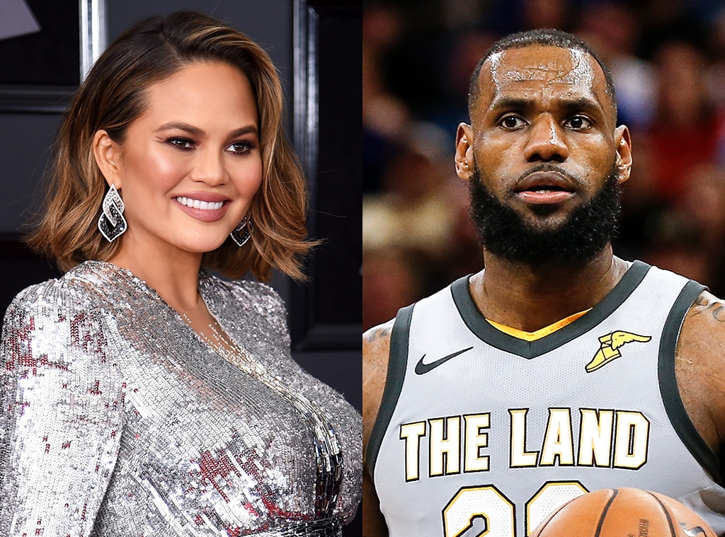 LeBron James Chrissy Teigen