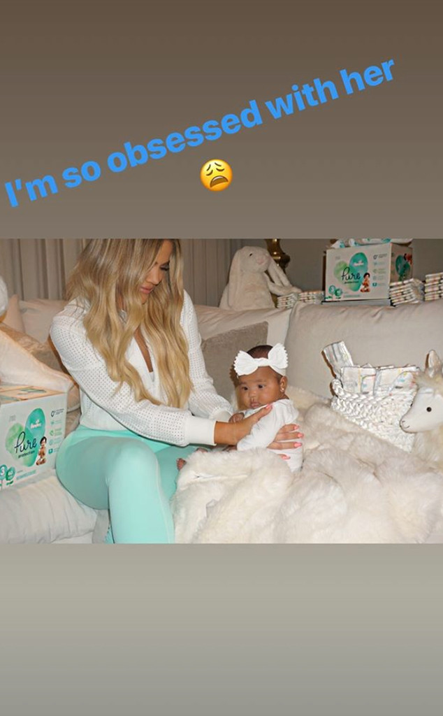 True Thompson, Khloe Kardashian, Baby, Daughter