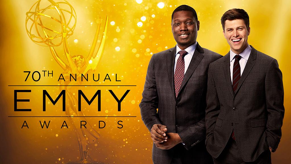 2018 Emmys, Michael Che, Colin Jost