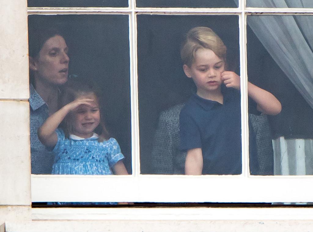 Princess Charlotte, Prince George