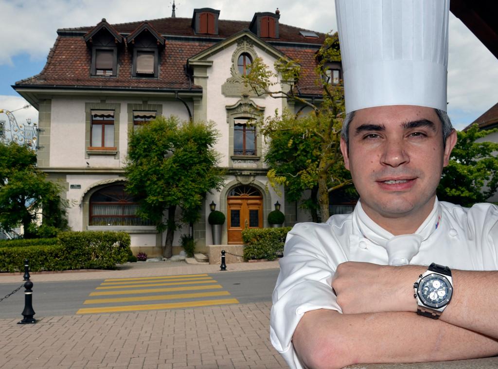 Benoit Violier, Chef, Restaurant de l'Hôtel de Ville Crissier