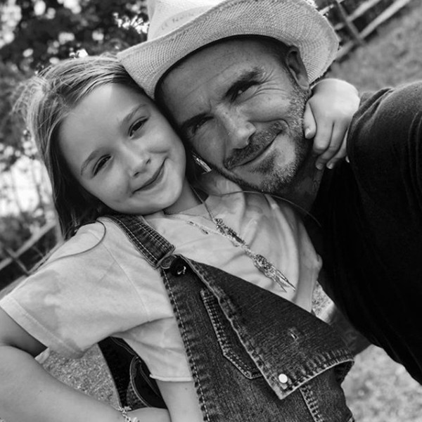 David And Victoria Beckham Celebrate Harpers Birthday With A Party