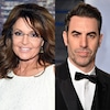 Sarah Palin, Sacha Baron Cohen