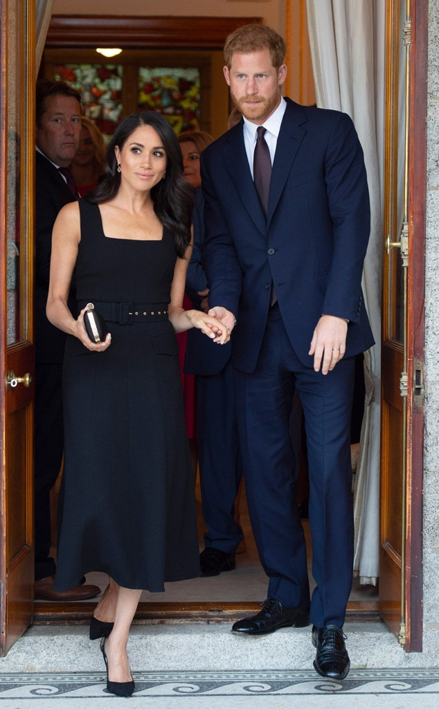 Meghan Markle Proves There's No Drama With Designer Emilia