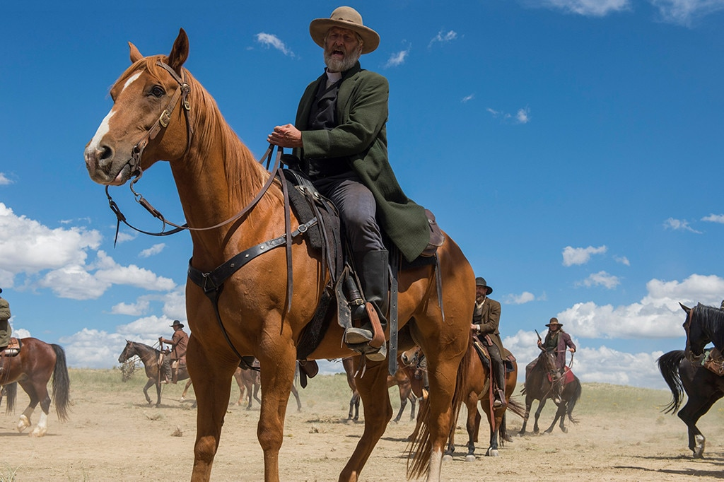 "Jeff Daniels -  ""My genuine gratitude to the Emmy Voters.  GODLESS  was Scott Frank's triumph,"" the Supporting Actor in a Limited Series or Movie nominee explained. ""Thrilled to be a part of it. Plus I got to ride a horse."""