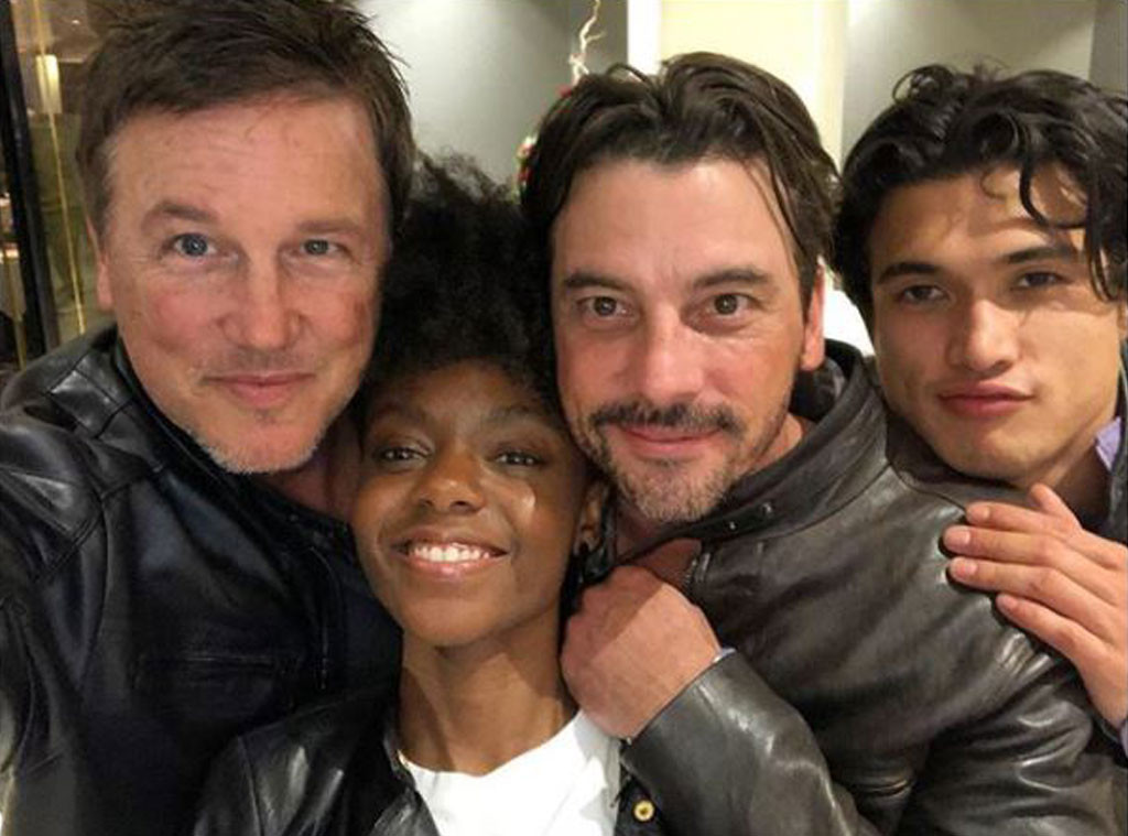Riverdale, Lochlyn Munro, Ashleigh Murray, Skeet Ulrich, Charles Melton, Cast