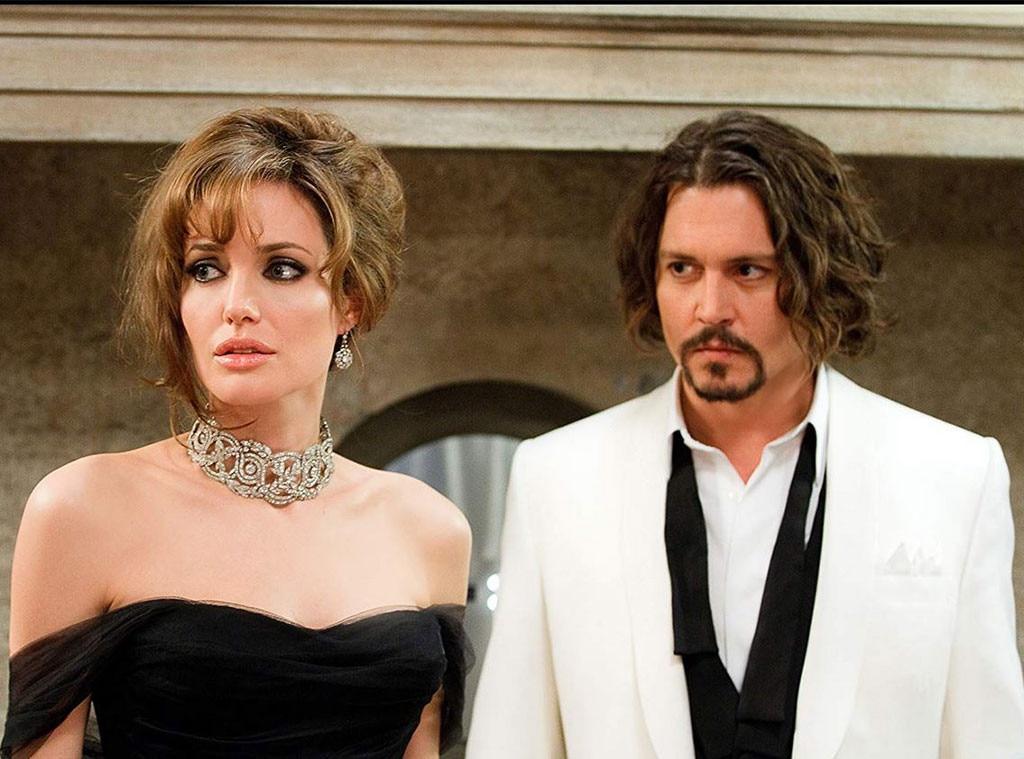 The Tourist, Angelina Jolie, Johnny Depp