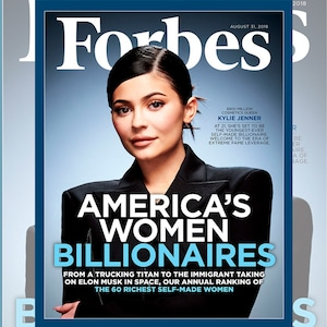 Kylie Jenner, Forbes