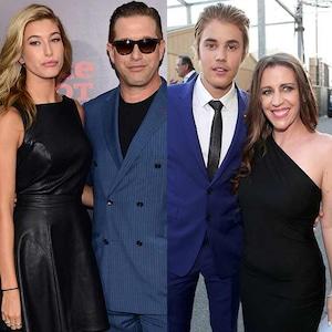 Hailey Baldwin, Stephen Baldwin, Justin Bieber, Pattie Mallette