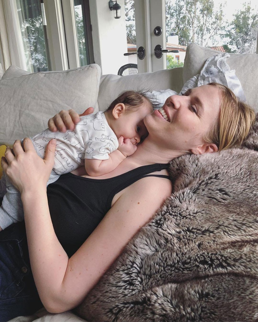 """Natasha Bedingfield -  The """"Unwritten"""" singer experienced a very happynew year with the birth of her son, Solomon Dylan Robinson, on December 31, 2017. The 36-year-old  announced  the exciting newsby  posting  a photo of herself in the hospital, holding a Starbucks cup with the word """"Mum."""""""