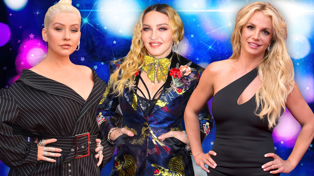 Pop Divas Poll, Christina Aguilera, Madonna, Britney Spears