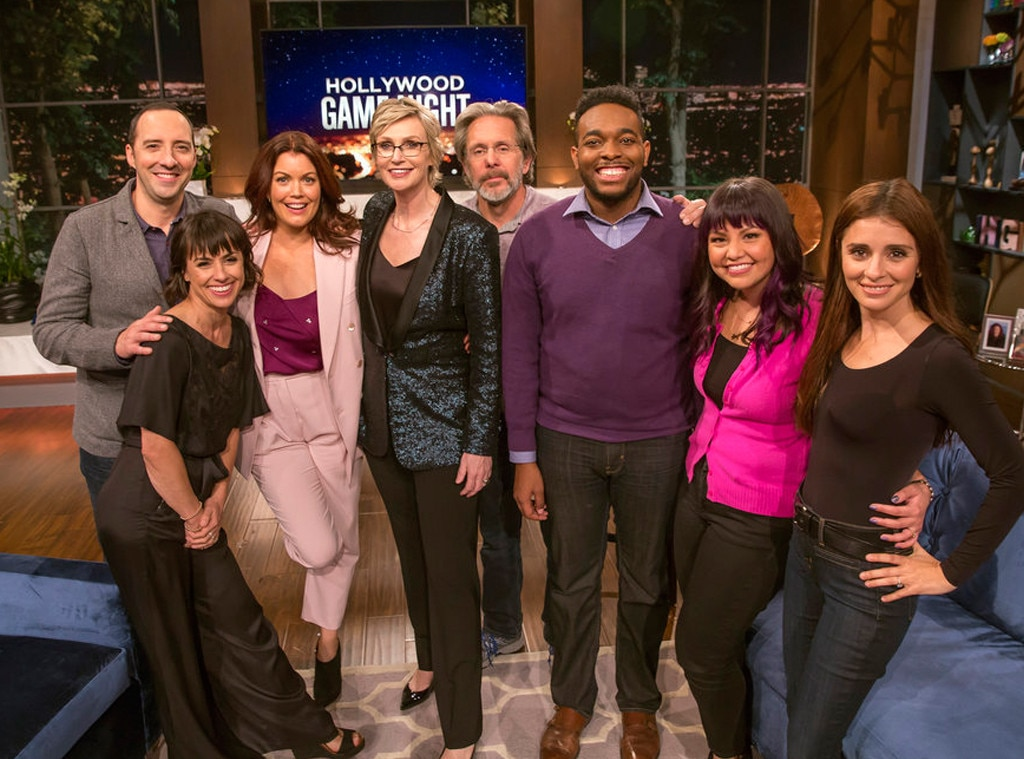 "Jane Lynch,  Hollywood Game Night  -  ""Hosting  Hollywood Game Night  has been the joy of a lifetime and to receive this Emmy nomination is lovely icing upon an already delicious cake,"" the Host for a Reality or Reality-Competition Program nominee shared in a statement."