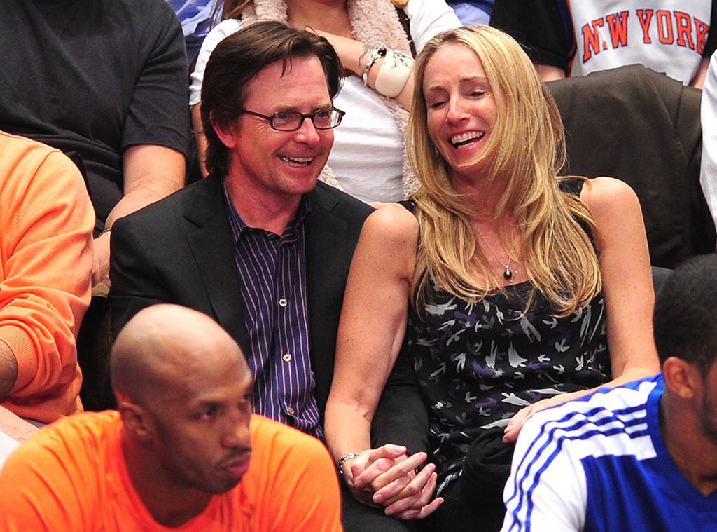 Michael J. Fox, Tracy Pollan, 2011