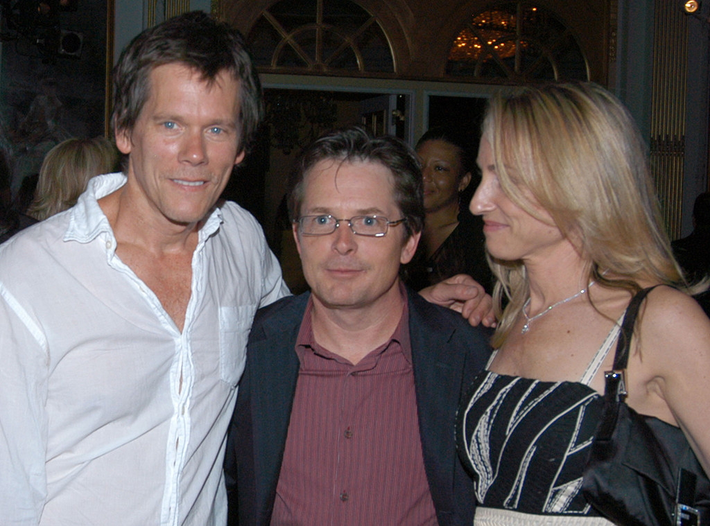 Kevin Bacon, Michael J. Fox, Tracy Pollan, 2007
