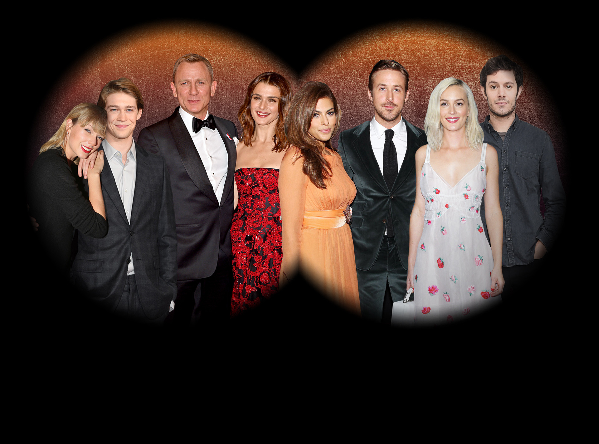 Under the Radar Couples, Eva Mendes, Ryan Gosling, Rachel Weisz, Daniel Craig, Leighton Meester, Adam Brody, Taylor Swift, Joe Alwyn