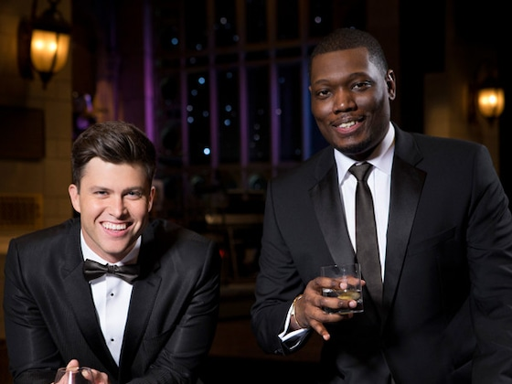 2018 Emmys First Look: Colin Jost, Michael Che Get Political and Loving