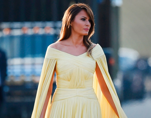 Melania Trump Goes Beauty And The Beast-Glam And More Best