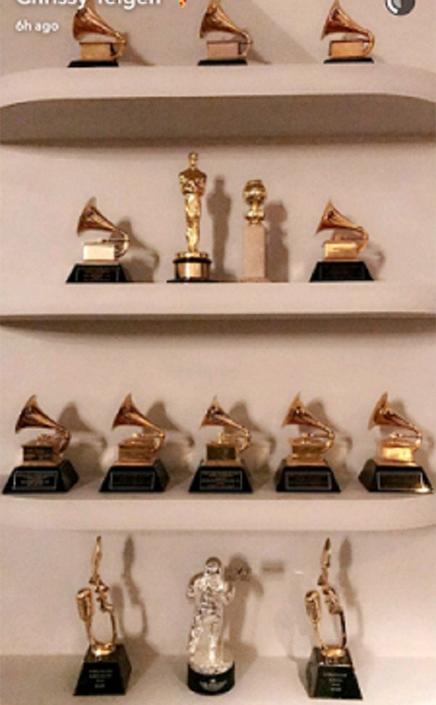 John Legend, Awards, Shelf