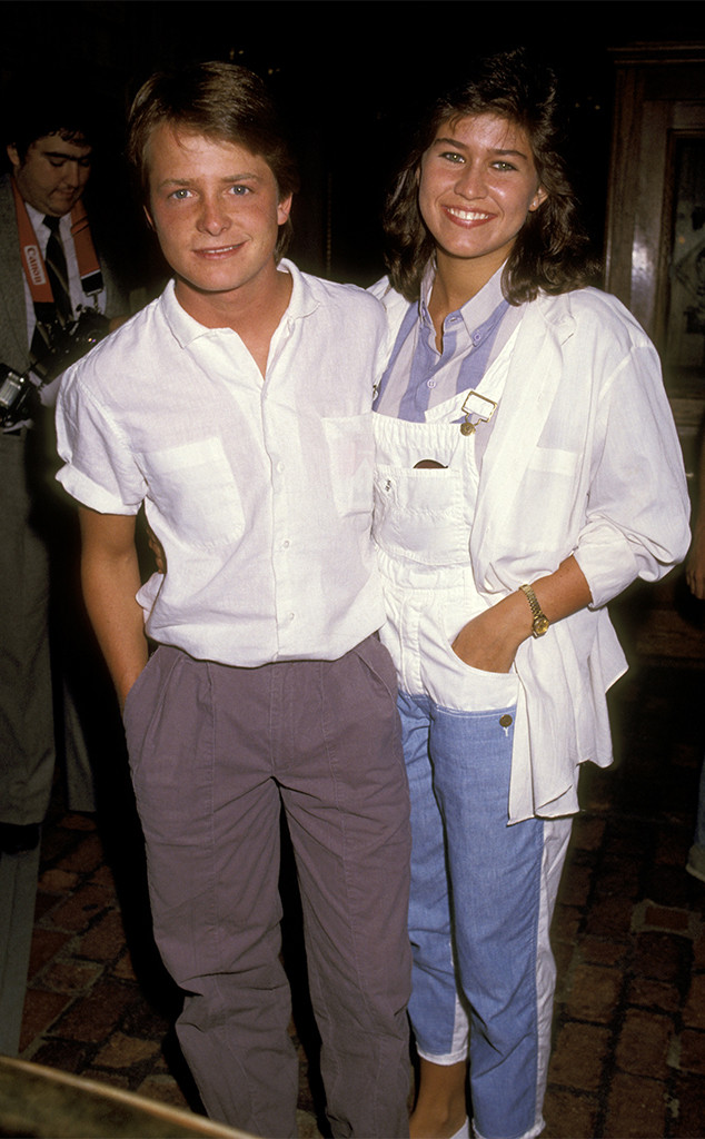 Michael J. Fox, Nancy McKeon, 1984