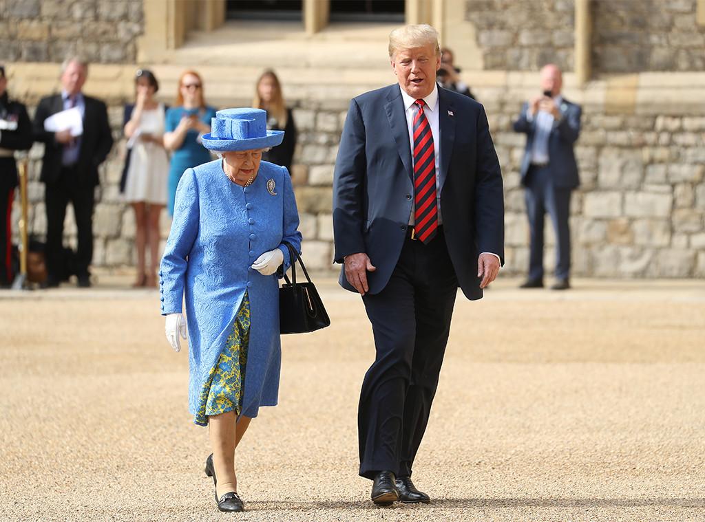 Queen Elizabeth II, Donald Trump