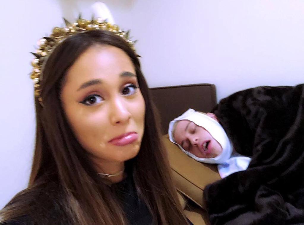 Ariana Grande, Pete Davidson, Instagram