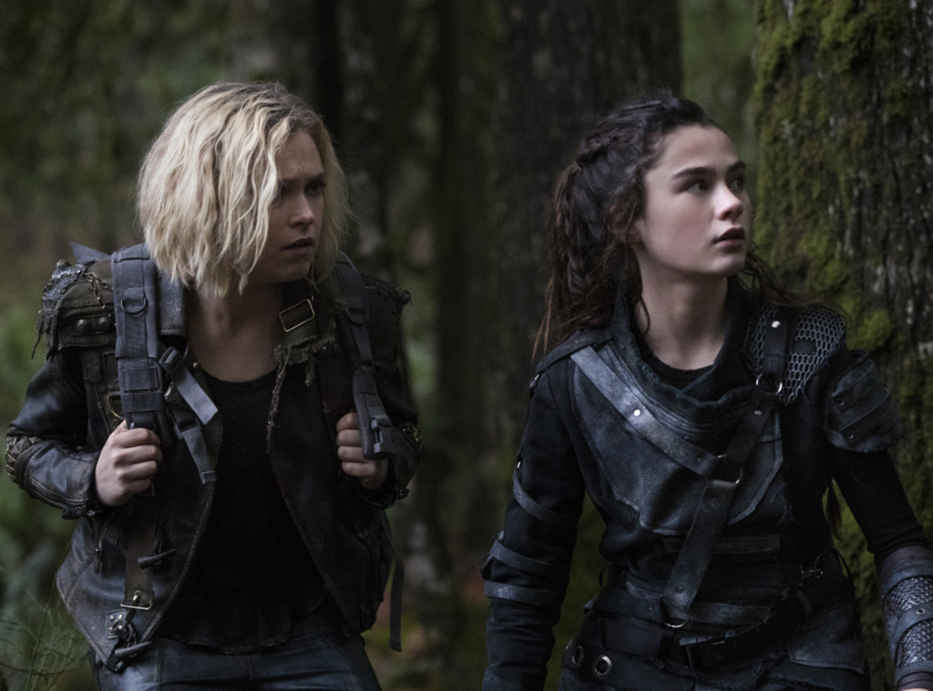 The 100, Eliza Taylor, Lola Flanery