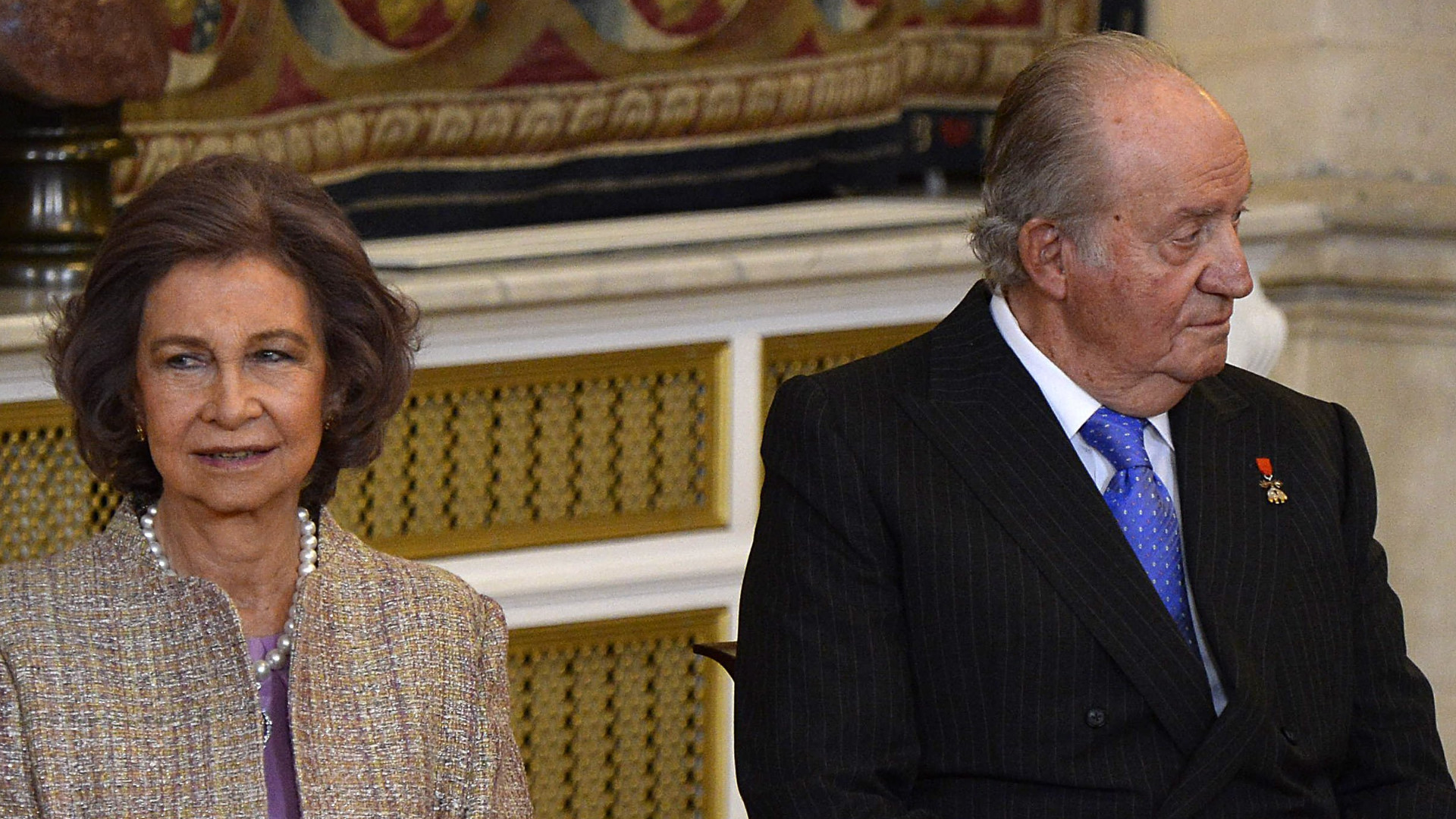 Reina Sofia, rey Juan Carlos