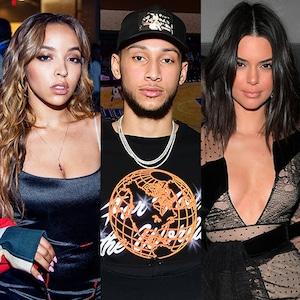 Tinashe, Ben Simmons, Kendall Jenner