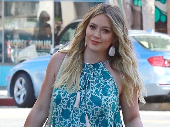 "Hilary Duff Asks Baby to ""Hurry Up"" as Due Date Approaches"