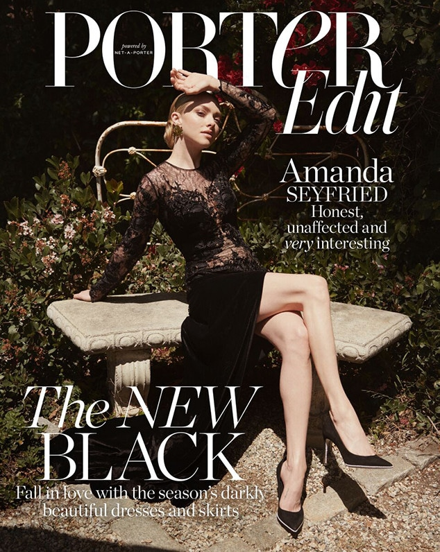 Amanda Seyfried, PorterEdit