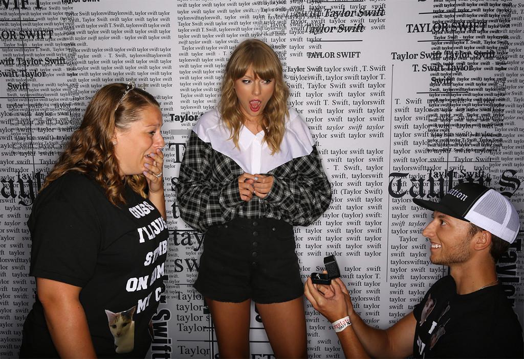 Taylor Swift, Fan, Proposal, Engagement