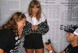 Taylor Swift, Fan, Proposal, Engagement