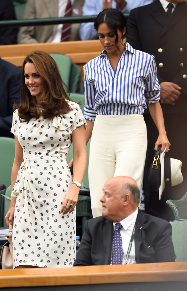 Kate Middleton, Meghan Markle, Wimbledon 2018