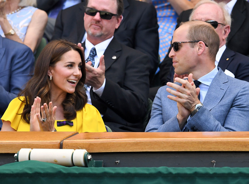 Wimbledon 2018, Kate Middleton, Prince William