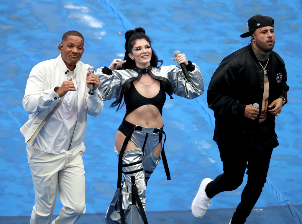 Era Istrefi, Will Smith, Nicky Jam, Fifa World Cup Final 2018