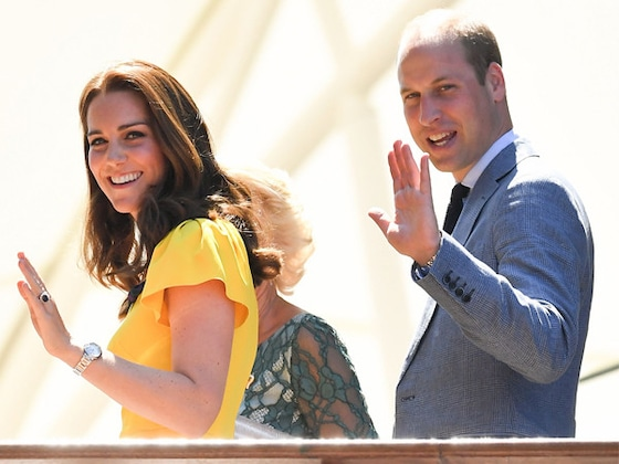 Kate Middleton Is a Vision in Yellow as She Joins Prince William at Wimbledon