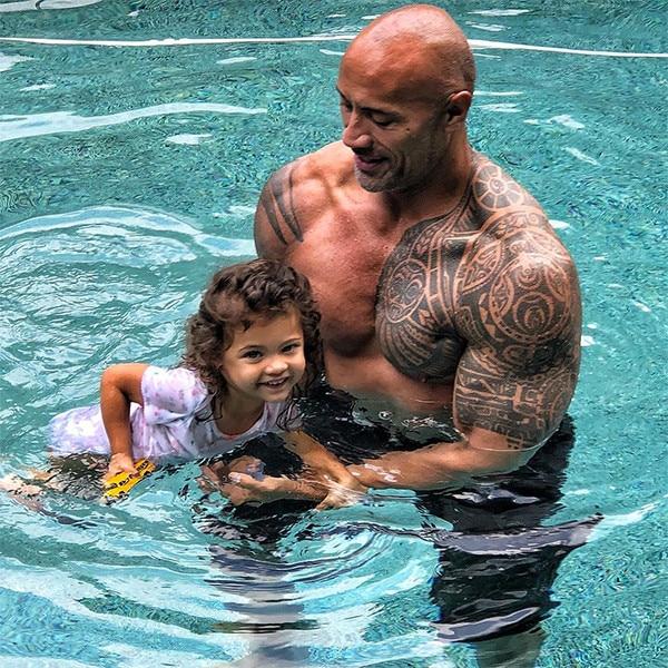 Dwayne Johnson, Daughter, Jasmine